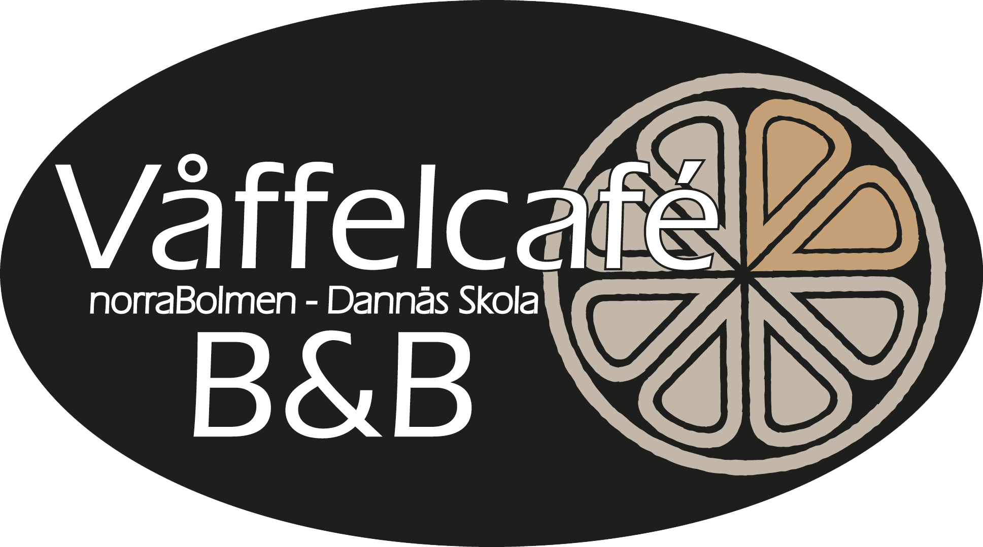 Våffelcafe Logotyp